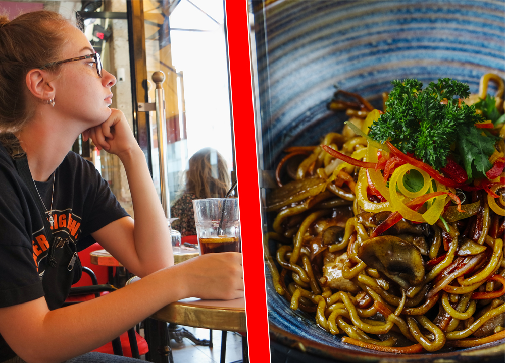 The horrible experience faced by the young man who ate instant noodles with Coca-Cola
